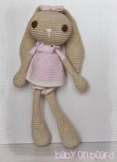 baby on board: Baby bunny Bianca
