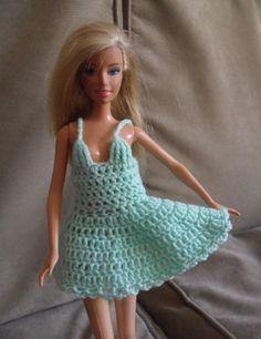 ropa de barbie tejida a crochet grafico - Szukaj w Google
