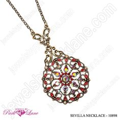 Sevilla Necklace-This is a great Bohemian look for Maxi dresses and skirts.  Has matching earrings too!!!