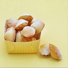 Dominique Ansel's mini madeleines are the ultimate treat, especially when they're made fresh in the morning. Find out how to make them for a crowd over on his feed!