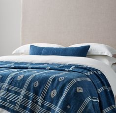 Handcrafted Tribal Linen Printed Oversized Bed Throw