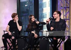 Dan Gow, Chrissy Costanza and Will Ferri of Against The Current appear to promote 'Young