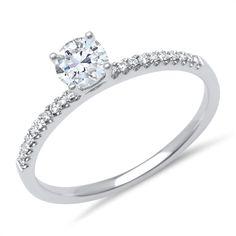 Weißgoldring 20 Diamanten 0,13 ct gesamt DR0052 http://www.thejewellershop.com/ #weißgold #ring #gold #diamanten #diamantring #schmuck #jewelry