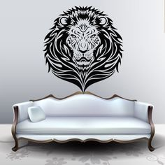 Wall Decal Art Decor Decals Sticker Lion Animal Mane Head Force Power Predator Cat (M223) DecorWallDecals http://www.amazon.com/dp/B00FWK5Q4I/ref=cm_sw_r_pi_dp_EbmYub0DPMKAJ
