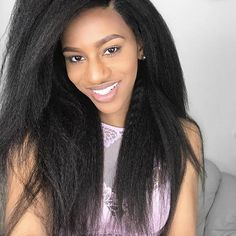 Kinky Straight Lace Front Wig Human Hair Deep Part Pre Plucked With Baby Hair Bleached Knots Malaysian Remy Hair xcsunny Frontal Hairstyles, Wig Hairstyles, Straight Hairstyles, Cheap Lace Front Wigs, Straight Lace Front Wigs, Front Lace, Remy Hair Wigs, Human Hair Lace Wigs, Kinky Straight Wig