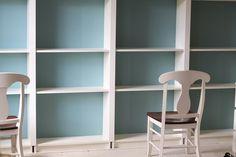 custom built-in bookcase