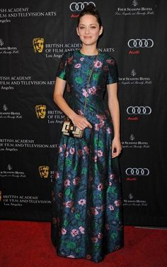 Erdem - Style Crush: Marion Cotillard  - Photos