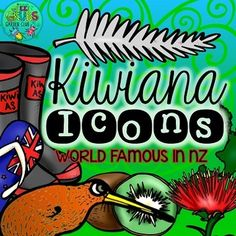 Kiwiana Objects, Icons & Landmarks {World Famous in New Zealand! Kiwiana, World Famous, Geography, New Zealand, Fun Facts, Homeschool, Objects, Icons, Australia