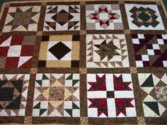 Block of the month quilt.