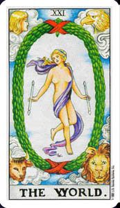 Tarot Card Meaning: The World