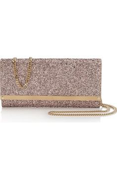 JIMMY CHOO Milla Coarse Glitter Clutch.  jimmychoo  bags  shoulder bags   clutch affdc00351a
