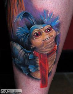 Dear god, this is marvelous! Google Image Result for http://www.geekytattoos.com/wp-content/uploads/2010/06/The_Worm.png
