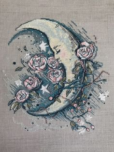 Moon & Roses, I love this look, it's unique and beautiful.