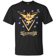 Team Instinct Logo - Pokemon Go T-shirts
