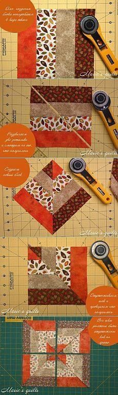 Patchwork patterns ideas easy quilts sewing projects 48 new ideas Quilting Tips, Quilting Tutorials, Machine Quilting, Quilting Projects, Quilting Designs, Sewing Projects, Sewing Ideas, Patchwork Patterns, Quilt Block Patterns
