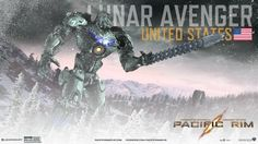 this is a pacific rim jaeger i design using the online jaeger designer. i call this one the lunar avenger