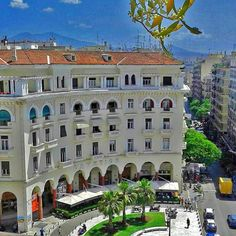 Thessaloniki, Mansions, House Styles, Home Decor, Decoration Home, Manor Houses, Room Decor, Villas, Mansion