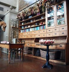 I want a big piece of furniture like this that has tons of drawers on my future craft room