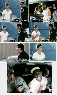 Tom when he got pranked... IM DYING