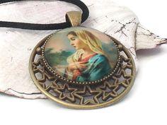 Mary magdalene pendant sacred feminine christian ciondoli mary magdalene pendant sacred feminine christian mozeypictures Gallery