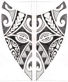 traditional maori tattoos | traditional polinesia.maori tattoo design idea.jpg…