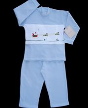 Smocked sweat suit 7