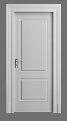 DÍVA lacquered classic door with nosalgia jamb