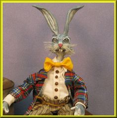 Bend-able Beanie Bunny Doll #2 at my e-Bay shoppe with a $45.00 starting bid!