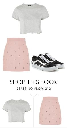 """""""casual"""" by juliadb on Polyvore featuring Topshop and Vans"""