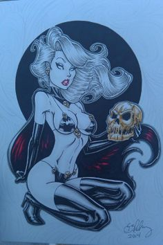 Lady Death Comic Art