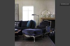 Romantic icelandic boutique apartment The living room.