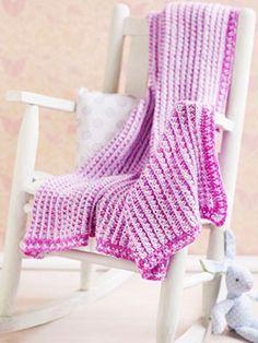 Double Ended Crochet Hook Baby Blanket