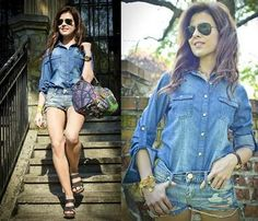 Jeansowy total look