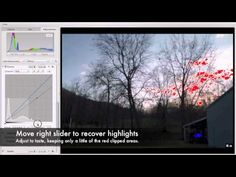 ▶ RAW Processing Aperture 3 Tutorial: Maximizing Dynamic Range of a Single Canon RAW Image - YouTube