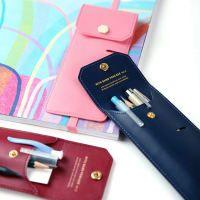 Attachable Leather Pen Case
