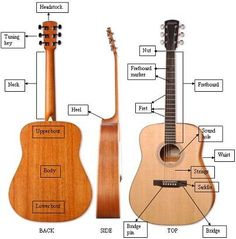 Best Online Guitar Lessons: Acoustic Guitar ~ A Short History And How Acoustic Guitars Work