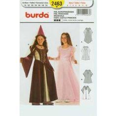 BURDA - 2463 Princesse médiévale, fée - enfant