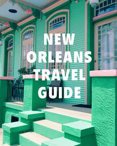 NEW ORLEANS TRAVEL GUIDE- this is a great guide for cool places to eat & drink! plus there's a pool bar!