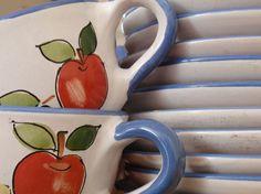 #patakikeramia csészéink / #patakiceramics cups Cups, Ceramics, Tableware, Ceramica, Mugs, Pottery, Dinnerware, Dishes, Ceramic Art