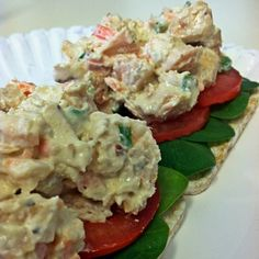Ripped Recipes - Dijon Chicken Salad - Not 'Cho average Chicken Salad...