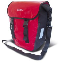 The Basil Forrest Rear Rider is a 100% water proof bicycle pannier bag.