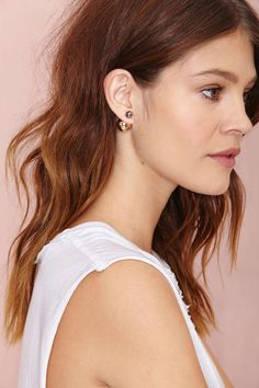 Such a Baller Earrings | Shop What's New at Nasty Gal