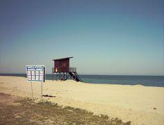 Paralia beach, Katerini, Northern Greece. April 2013