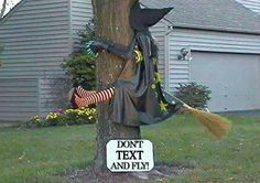Funny Halloween Pictures: The Witch. Here you can find some of the funniest Halloween pictures, including Carved Pumpkins, Crazy Halloween Costumes, Halloween Witch Pictures and more. Halloween Tags, Fröhliches Halloween, Outdoor Halloween, Holidays Halloween, Halloween Costumes, Halloween Cartoons, Halloween Pumpkins, Manualidades Halloween, Adornos Halloween