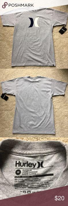 Hurley T-Shirt Hurley T-Shirt                                                                           Color: Gray         Size: Medium           Condition: NWT Hurley Shirts Tees - Short Sleeve