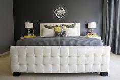 Grey and yellow bedroom decor grey yellow bedroom gray and yellow bedroom decor luxurious master bedroom . grey and yellow bedroom decor Grey Bedroom Design, Gray Bedroom, Grey Bedding, Bedroom Colors, Master Bedroom, Bedroom Decor, Bedroom Ideas, Bedroom Photos, Bedroom Inspiration