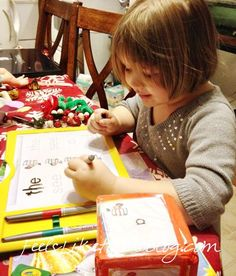 Learning to Read and Write by Playing