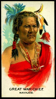Cigarette Card - Indian Chief, Great War Chief | British Ame… | Flickr