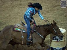 Christy Loflin and Movin' 2nd round NFR 2013.