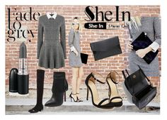 """SheIn Dress"" by saletovic ❤ liked on Polyvore featuring mode"